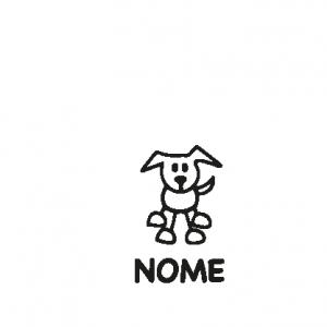 animali a bordo adesivo cane