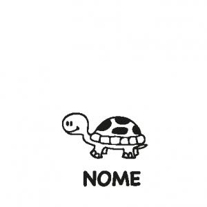 animali a bordo adesivo tartaruga