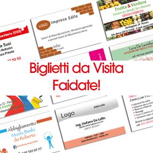 Biglietti da Visita Faidate!