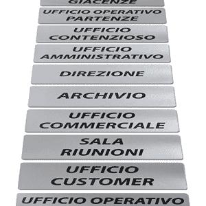 Etichette adesive di servizio per ufficio attività negozi